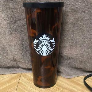 Tortise Shell Starbucks Tumbler